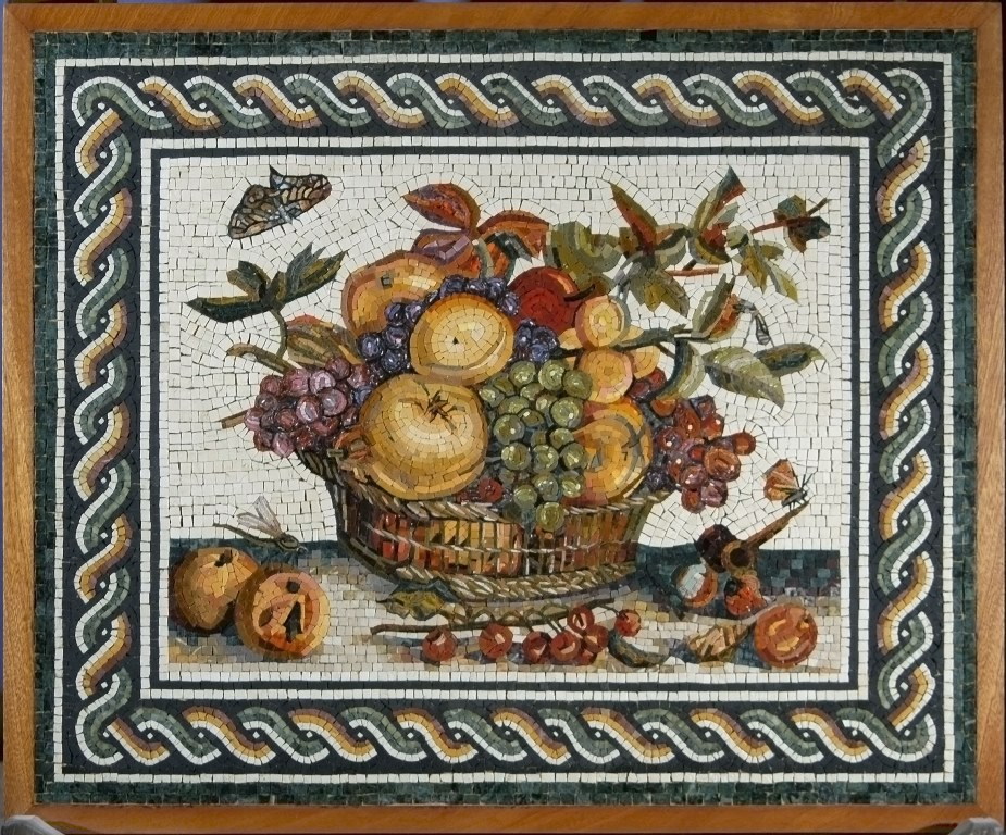 Il mosaico romano storia e tecniche di produzione - Immagini da colorare della natura ...