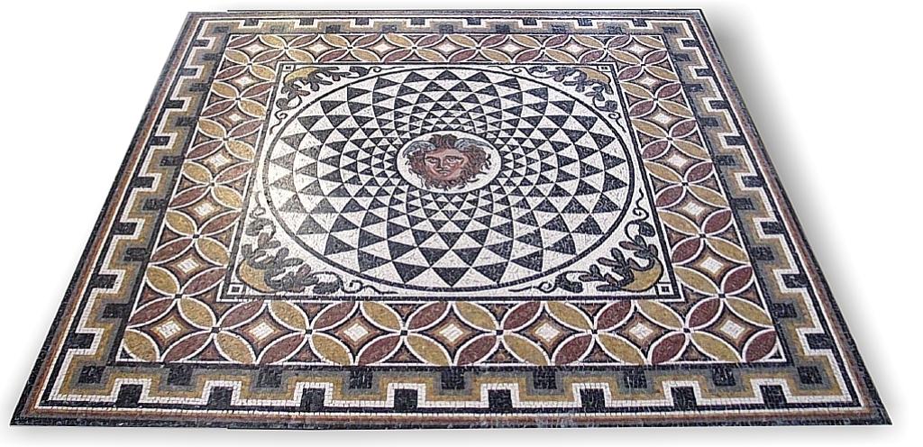 Il mosaico romano storia e tecniche di produzione for Pavimenti mosaici per interni