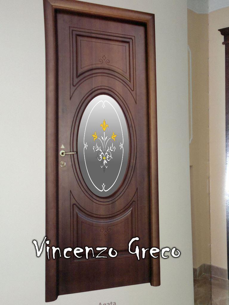 Casa immobiliare accessori porte interne con vetro decorato - Vetri termici per finestre ...