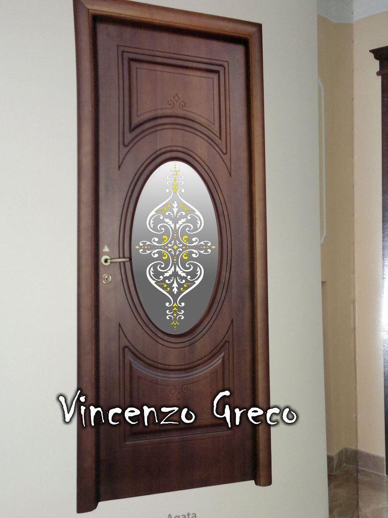 Vetrate artistiche per interni porte e finestre decorate - Porte a specchio per interni ...
